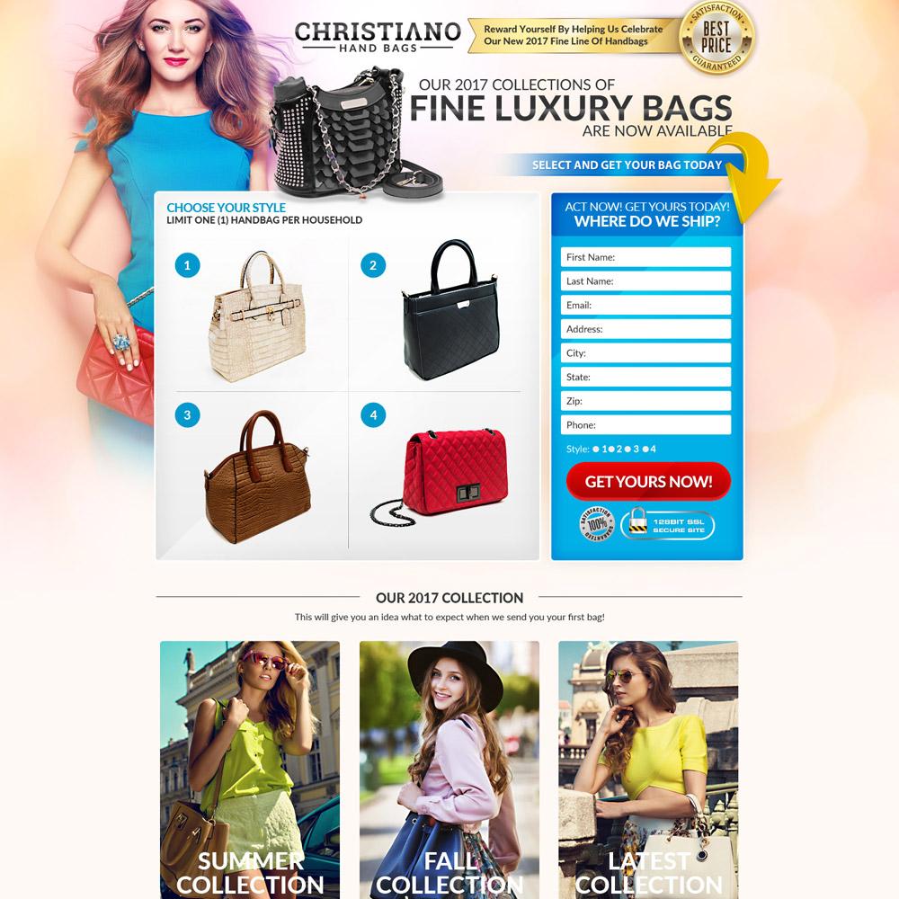 Bag Landing Page