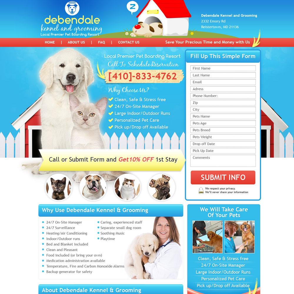 Pet Landing Page